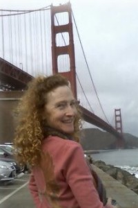 Laurie Nelson and The Golden Gate Bridge